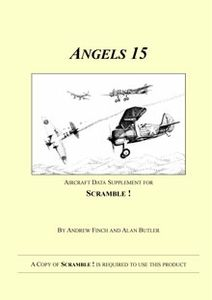 Angels 15: Aircraft Data Supplement for Scramble!