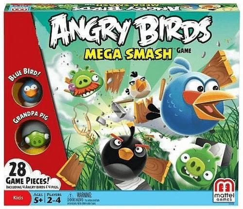 Angry Birds: Mega Smash game