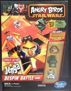 Angry Birds: Star Wars – Jenga Bespin Battle Game