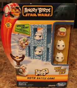 Angry Birds: Star Wars – Jenga Hoth Battle Game