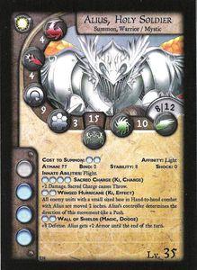 Anima Tactics: Alius, Holy Soldier