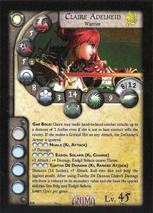Anima Tactics: Claire Adelheid