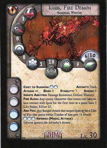 Anima Tactics: Ignis, Fire Demon