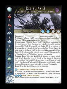 Anima Tactics: Raziel Nk-X