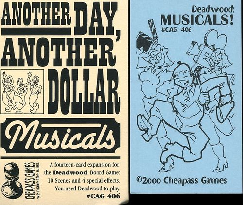 Another Day, Another Dollar: Musicals