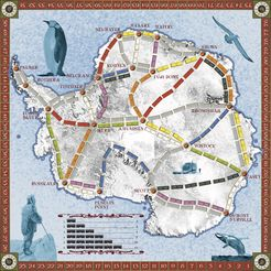 Antarctica (fan expansion to Ticket to Ride)