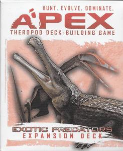 Apex Theropod Deck-Building Game: Exotic Predators Expansion Deck