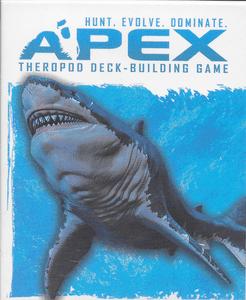 Apex Theropod Deck-Building Game: Megalodon Expansion Deck