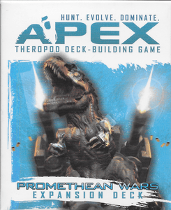 Apex Theropod Deck-Building Game: Promethean Wars Expansion Deck