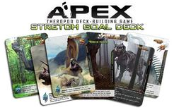 Apex Theropod Deck-Building Game: Second Kickstarter Stretch Goal Pack