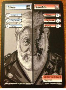 ApocalypZe Card Game: Biker/Zombie Promo