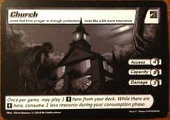 ApocalypZe Card Game: Church Promo
