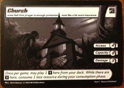 ApocalypZe Card Game: Church Promo