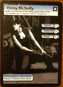 ApocalypZe Card Game: Patsy McNally Promo