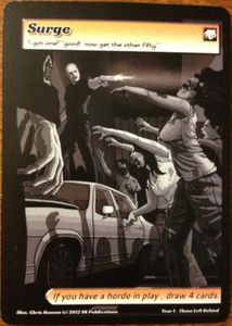 ApocalypZe Card Game: Surge Promo