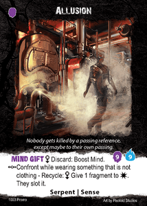 Apocrypha Adventure Card Game: Allusion Promo Card