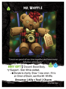 Apocrypha Adventure Card Game: Mr. Whiffle Promo Card