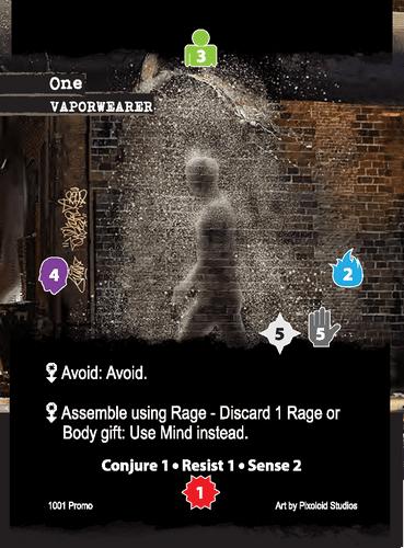 Apocrypha Adventure Card Game: The Saint One Promo Card