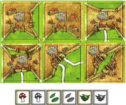 Apothecaries (fan expansion for Carcassonne)