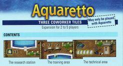 Aquaretto: Three Coworker Tiles