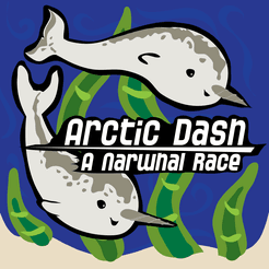 Arctic Dash: A Narwhal Race