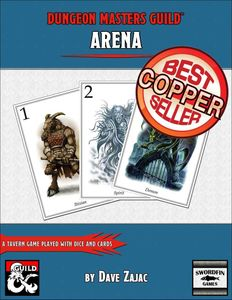 Arena: A Tavern Game Played with Dice and Cards