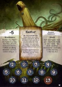 Arkham Horror: Arkham Nights 2011 Promotional Ancient One Card