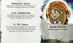 Arkham Horror: Penny Arcade Characters