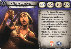 Arkham Horror: The Card Game – Marie Lambeau Promo Cards