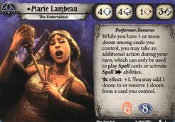 Arkham Horror: The Card Game – Marie Lambeau Promo Cards