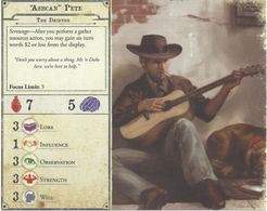 Arkham Horror (Third Edition): Arkham Nights 2018 Promotional Character Card Set