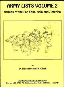 Army Lists Volume 2: Armies of the Far East, Asia, and America
