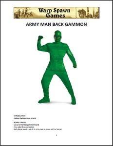 Army Man Backgammon