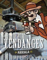 Arriala: Canal de Garonne – Vendanges