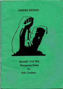 !Arriba Espana! Spanish Civil Wargame Rules