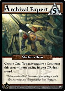 Ascension: Archival Expert Promo Card