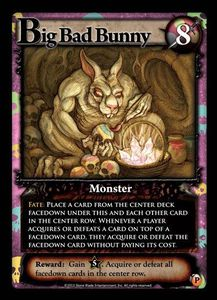Ascension: Chronicle of the Godslayer – Big Bad Bunny Promo Card