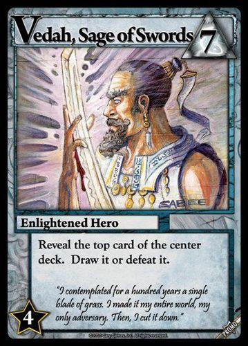 Ascension: Chronicle of the Godslayer – Vedah, Sage of Swords Promo