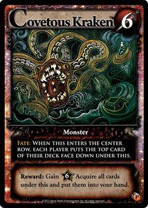 Ascension: Darkness Unleashed – Covetous Kraken Promo Card
