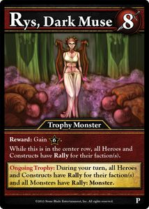 Ascension: Dawn of Champions – Rys, Dark Muse Promo Card
