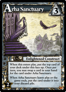 Ascension: Immortal Heroes – Arha Sanctuary Promo Card