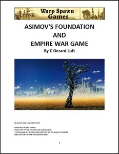 Asimov's Foundation and Empire War Game