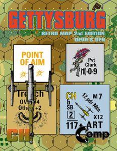 ASL Comp: Gettysburg – Retro Map 2nd Edition: Devil's Den