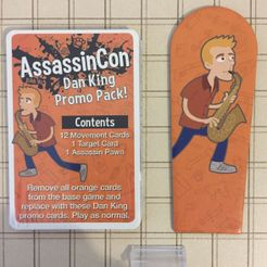AssassinCon: Dan King Promo Pack