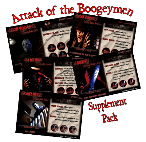'Attack of the Boogeymen' Supplement (fan expansion for Last Night on Earth)