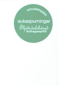 Átthagaspilið: Fljótsdalshérað aukaspurningar