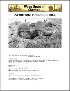 Attrition: Pork Chop Hill