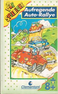Aufregende Auto-Rallye