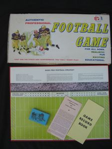 Authentic Professional Football Game