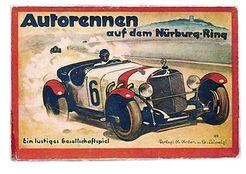 Autorennen auf dem Nürburg-Ring